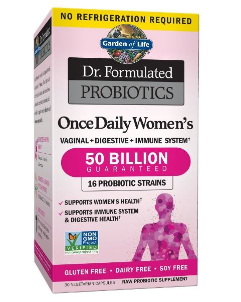 garden of life dr formulated women probiotics