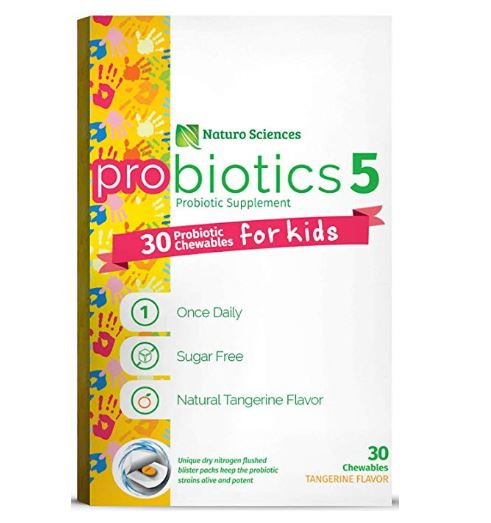 naturo sciences kids probiotics