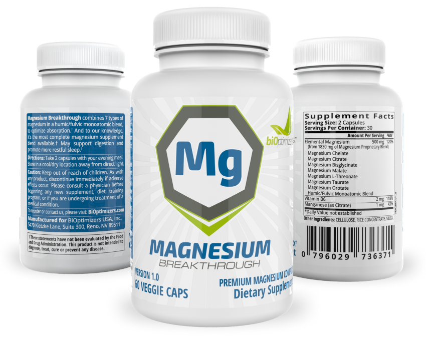 magnesium breakthrough supplement
